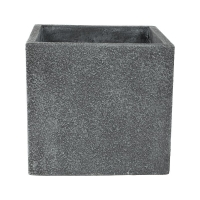 Кашпо marc (concrete) cube grey l56 w56 h52 см