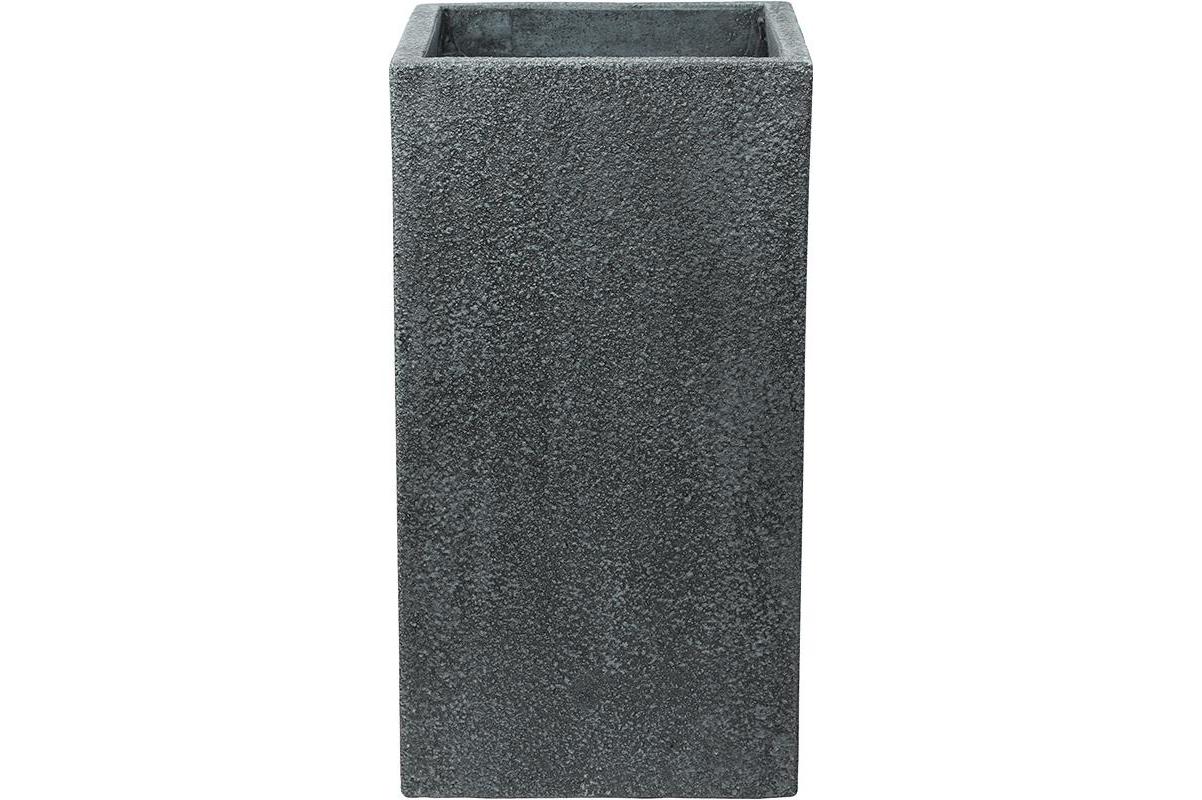 Кашпо marc (concrete) square high grey l43 w43 h78 см