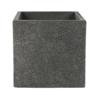 Кашпо marc (concrete) cube anthracite l56 w56 h52 см