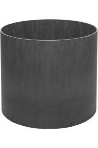 Кашпо elegance / basic round high shine / mat ral: d75 h47 см
