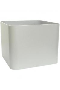 Кашпо elegance / basic square high shine / mat ral: l50 w50 h39 см