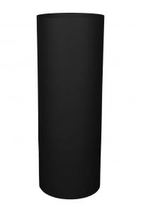 Кашпо parel pedestals / expert round structure ral 9006 white aluminium d43 h117 см
