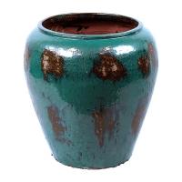 Кашпо mystic emperor pot blue d58 h62 см