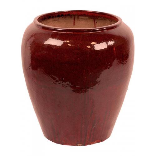 Кашпо mystic emperor pot red black d76 h82 см