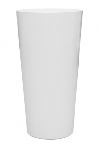 Кашпо express gloss white d38 h73 см