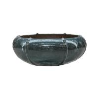 Кашпо ocean blue bowl (moda) d58 h23 см