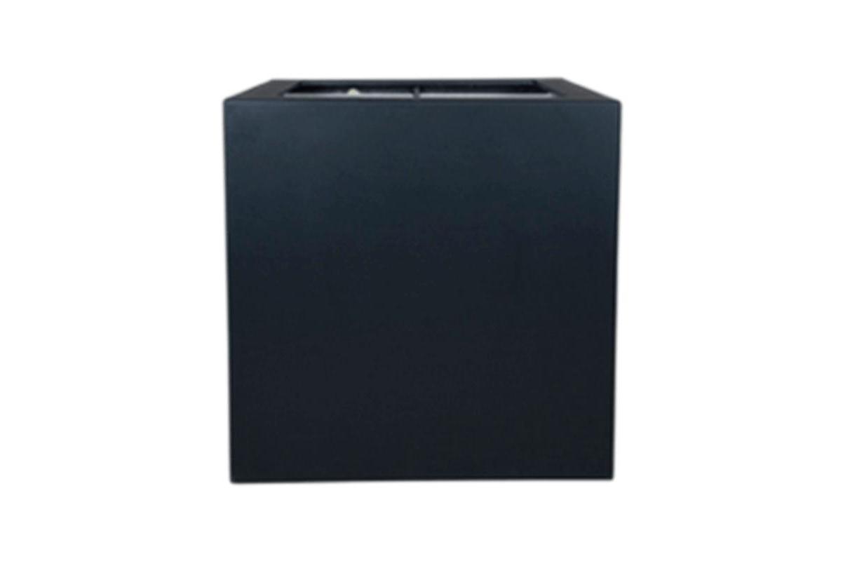 Кашпо polycube anthracite square l40 w40 h40 см