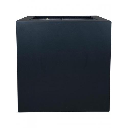 Кашпо polycube anthracite square l80 w80 h80 см