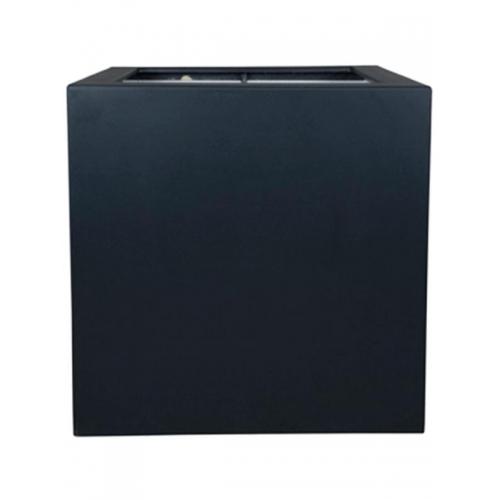 Кашпо polycube anthracite square l120 w120 h120 см