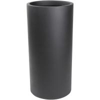 Кашпо charm cylinder black d33 h68 см