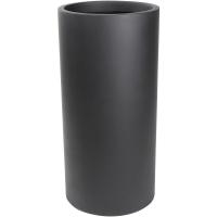 Кашпо charm cylinder black d37 h90 см