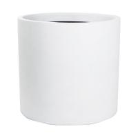 Кашпо charm cylinder white d52 h48 см