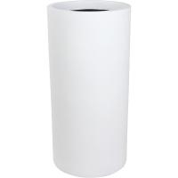 Кашпо charm cylinder white d33 h68 см