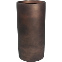 Кашпо charm cylinder bronze d37 h90 см