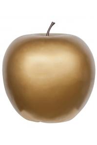 Яблоко декоративное apple gold xl d64 h68 см