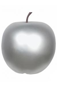 Яблоко декоративное apple silver m d36 h38 см