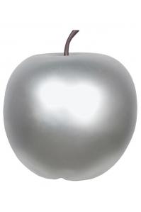 Яблоко декоративное apple silver l d53 h56 см