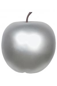 Яблоко декоративное apple silver xl d64 h68 см