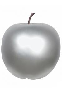 Яблоко декоративное apple silver xxl d80 h83 см