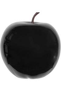 Яблоко декоративное apple glossy black xxl d80 h83 см