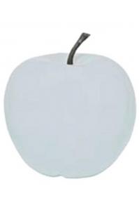 Яблоко декоративное apple glossy white xl d64 h68 см