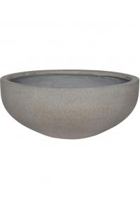 Кашпо stone morgan s, brushed cement d54 h23 см