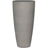 Кашпо stone dax xl, brushed cement d47 h100 см