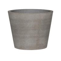 Кашпо stone bucket m, brushed cement d50 h40 см