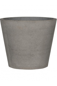 Кашпо stone bucket l, brushed cement d58 h50 см