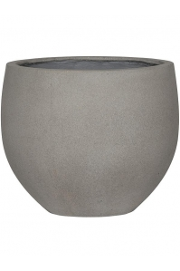 Кашпо stone orb l, brushed cement d53 h46 см