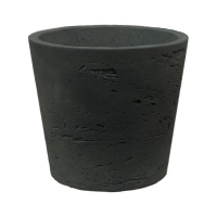 Кашпо rough mini bucket xs black washed d13 h11 см