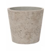 Кашпо rough mini bucket xs grey washed d13 h11 см