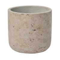 Кашпо rough mini charlie xxxs grey washed d9 h8 см