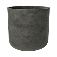 Кашпо rough charlie xs black washed d12 h12 см