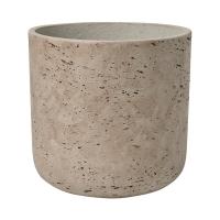 Кашпо rough charlie m grey washed d18 h18 см