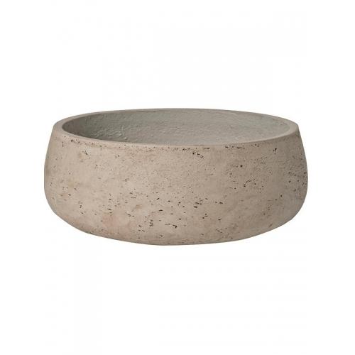 Кашпо rough eileen m grey washed d29 h11 см