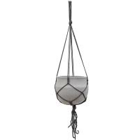 Кашпо подвесное stone (hanging) hans s light brushed d22 h19 см