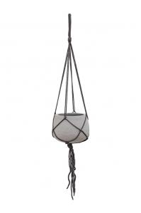 Кашпо подвесное stone (hanging) mini pax s light brushed d20 h15 см