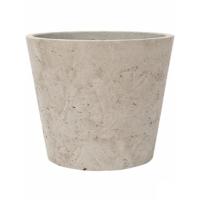 Кашпо rough mini bucket l grey washed d23 h20 см