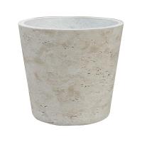 Кашпо rough mini bucket m grey washed d16 h15 см