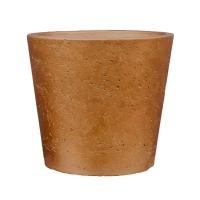 Кашпо rough mini bucket m metallic copper d16 h15 см