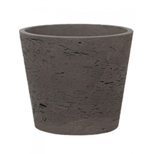 Кашпо rough mini bucket l chocolate d23 h20 см
