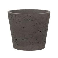 Кашпо rough mini bucket m chocolat d16 h15 см