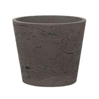 Кашпо rough mini bucket s chocolat d14 h12 см