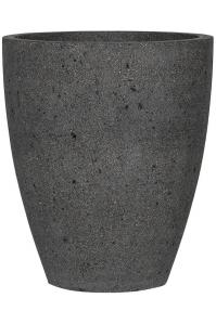Кашпо stone ben l, laterite grey d47 h55 см