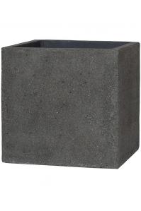 Кашпо stone block l laterite grey l50 w50 h50 см
