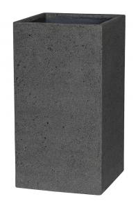 Кашпо stone bouvy l laterite grey l44 w44 h81 см