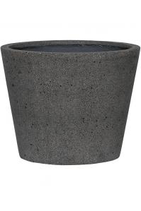 Кашпо stone bucket m, laterite grey d50 h40 см