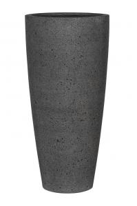 Кашпо stone dax xl, laterite grey d47 h100 см