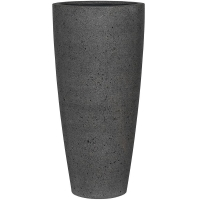Кашпо stone dax xl, laterite grey d47 h100 см